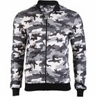 D & A Lifestyle Army Style Zip Pullover Grau Camouflage(129798)