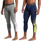 Nike Men's Dri-FIT Pro Fitted Football 3/4 Tights NWT
