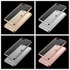 Ultra Thin Clear Crystal Rubber TPU Back Case Cover for Apple iphone 7 & 7 Plus