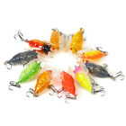 4cm/6g Artificial Fishing Lures CrankBaits Cicada Tackle Hooks Floating Rattles
