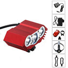9000Lm 3X XM-U2 Rechargeable LED Head Front Bike Lamp Bicycle light HeadLight