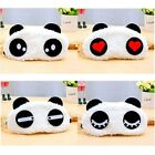 3D Panda Eye Mask Soft Padded Sleep Travel Cover Rest Relax Sleeping Blindfold