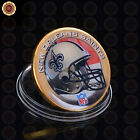 WR NFL Gold Challenge Coin Collection US Football Fan Souvenir 32 Team Available