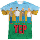 King of The Hill Yep Sublimation Adult T-Shirt - (3X-Large)