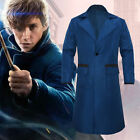 Fantastic Beasts and Where to Find Them Newt Scamander Cosplay Coat Overcoat
