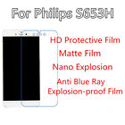 3pcs For Philips S653H Anti Explosion Film,High Clear Screen Protector