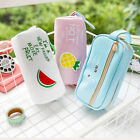 Canvas Student Pencil Pen Case Box Cosmetic Pouch Brush Holder Makeup Bag