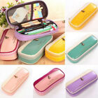 Cute Student Pencil Pen Box Case Cosmetic Pouch Brush Holder Makeup Bag