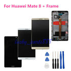 For Huawei Mate 8 LCD Display Touch Screen Digitizer Assembly +Frame Replacement