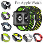 Replacement Sports Silicone Nike Strap For iWatch Apple Watch Band Series 2 /1