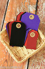 WINTER Colours Luggage TAGS 20pc wishing tree wedding place card apron Gift Tags