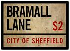 Sheffield United Football  A4 Bramall Lane Blades 2mm Semi Rigid Predrilled