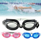 Adjustable head strap Men Women adult swimming glasses Kids Waterproof