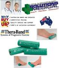 THERABAND FOOT ROLLER EXERCISE STRETCH RESISTANCE THERA-BAND GREEN