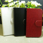 Fashion Magnetic Wallet Holder flip case cover for Huawei Cell Phone
