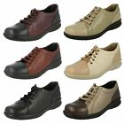 Ladies Easy B Casual Lace Up Flat Shoes Phoebe