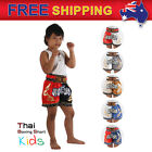 Boxing Shorts for Girl Kids Muay Thai MMA Thaiboxing Kickboxing Size XXS-M AU