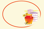 Grandma's Pantry Honey Labels, Honey Labels, Cake Labels Packs 20,40,60,80,100