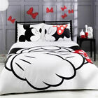 Disney Duvet Cover Mickey Mouse Bedding Set Pillowcases Without Quilt/Comforter