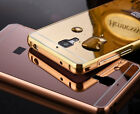 For Xiaomi Mi4(2015) Luxury & Premium Bumper + Mirror Acrylic Back Cover Case