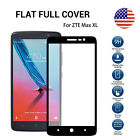 US 9H Black Tempered Glass Screen Protector ZTE Max XL N9560 Blade Max3 Z986U