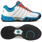 BOYS NEW TRAINERS K.SWISS BIGSHOT LIGHT WHITE BLUE COLOUR LACE UP TRAINERS 1-5.5