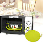 Folding Microwave Oven Bowls Cover Dish Plate Holder Insulated Tray Double Layer