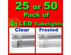 led light fluorescent tube replacement - 25 pcs 4FT LED Light T8/T12 Fluorescent Replacement Tube 6500K G13 18w 4 Foot