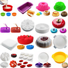 Silicone Mousse Chocolate Ice Cream Pastry Baking Tool Fondant Cake Dessert Mold