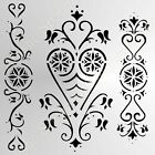 *Sale* BUTTERFLY FLORA Reusable Stencil A3 A4 A5 Romantic Shabby Chic Craft CH92