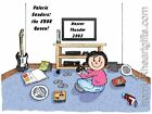 PERSONALIZED CUSTOM CARTOON PRINT - VIDEO GAME PLAYER - GREAT GIFT! FREE S/H