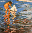 The Young Yachtsman by Sorolla (classic art print)