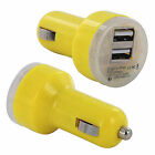 LED Dual USB 2-Port DC Car Charger 2.1A Adapter for iPhone iPad Smartphone