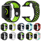 Replacement Silicone Sports Wrist Bracelet Strap for Apple Watch Band Series 2/1
