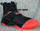Nike Lebron Soldier 10 SFG 844378-060 X OSU Ohio State Buckeyes PE Black Red NEW