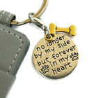 No longer by my side dog memorial photo key chain. Rainbow bridge sympathy gift
