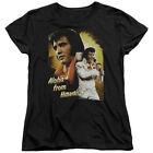 Elvis Presley Aloha From Hawaii Black Women's T-Shirt - (Large)