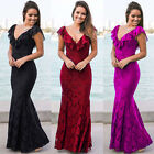 NEW Formal Long Women Lace Dress Prom Evening Cocktail Bridesmaid Wedding  P6493
