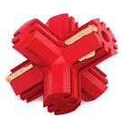 Dog Toy Kong Jump N Jack Small Red Nontoxic Extremely Durable Natural Rubber
