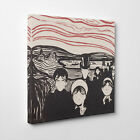 Premium Canvas Print Wall Art Edvard Munch Angst