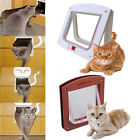 Fgy Fashion Dog Cat Flap Doors With 4 Way Lock For Pets Entry Exit New Design