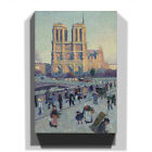 Premium Canvas Print Wall Art Various Sizes Maximilien Luce Notre Dame