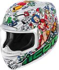Icon Motorcycle Airmada Lucky Lid 2 Helmet XS-3XL