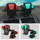 Mount Holder 360° Universal Green or Red Car Bracket  Automatic Phone Lock