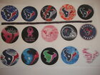 Houston Texans mix  buttons flat backs or pin badges  embellishments magnets $5.5 USD on eBay