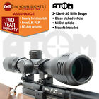 3-12x40 Air rifle scope / Shockproof rimfire scope / Adjustable objective lens