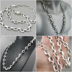 HUGE HEAVY CLASSIC BARAKA CHAIN 925 STERLING SILVER MENS NECKLACE 20 22 24 26 30