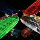 LED Deck Skateboard Light ABEC 7 Cruiser Board-Light Up Wheel- Gift