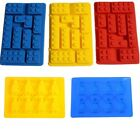 Building Block Brick Chocolate Ice Cube Tray Jelly Mould figurine Silicone Mold