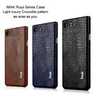 IMAK For Blackberry Keyone PU Leather Pattern Protective Back Case Cover BJ